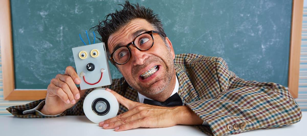 a funny teacher